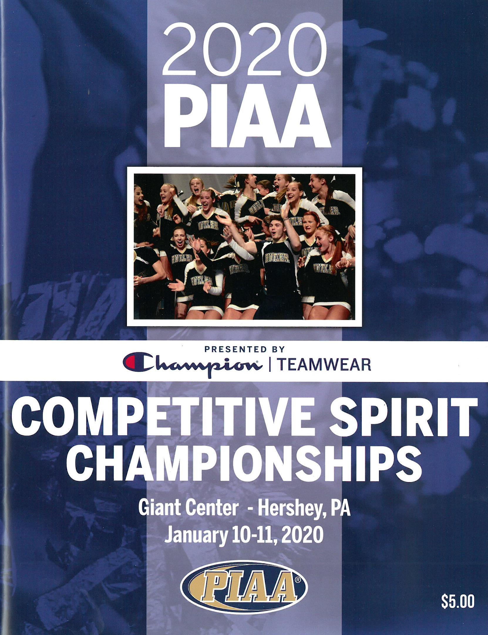 2018 Competitive Spirit Championship Program
